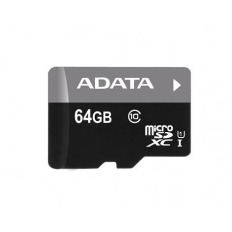 MEM MICRO SD 64GB ADATA UHS-I CL10 + ADAPT SD