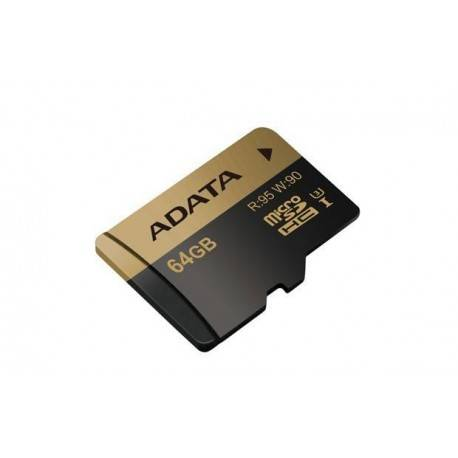 MEM MICRO SD 64GB ADATA UHS-I CL10 U3 + ADAPT SD