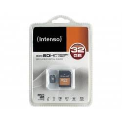 MEM MICRO SD 32GB INTENSO CL4 + ADAPT SD