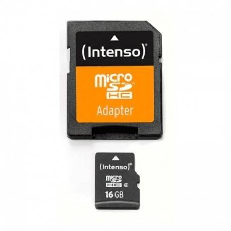 MEM MICRO SD 16GB INTENSO CL4 + ADAPT SD