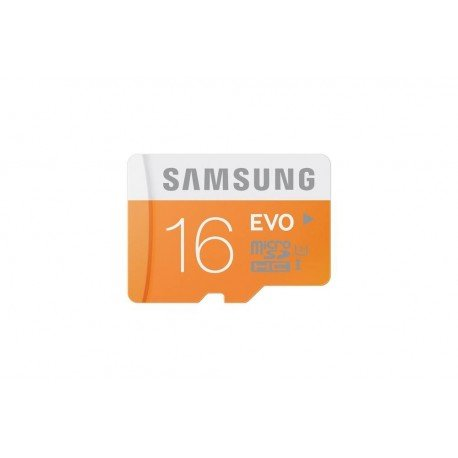 MEM MICRO SD 16GB SAMSUNG EVO CL10 + ADAPT SD