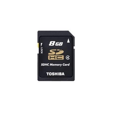 MEM MICRO SDHC 8GB TOSHIBA CL4 + ADAPT