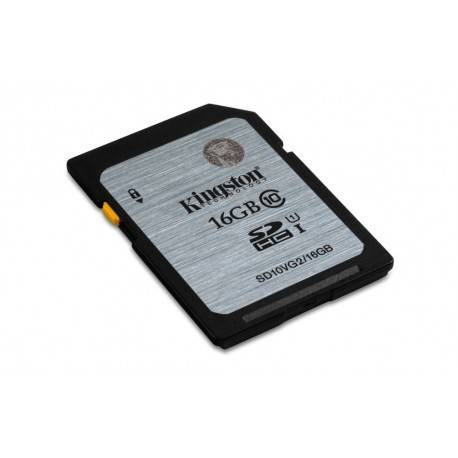 MEMORIA SD 16GB SDHC KINGSTON CLASE 10 UHS-I (U1)