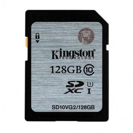 MEMORIA SD 128GB SDXC KINGSTON CLASE 10 UHS-I (U1)