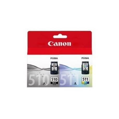 CARTUCHO ORIG CANON PACK PG-510/CL-511 NEGRO/COLOR