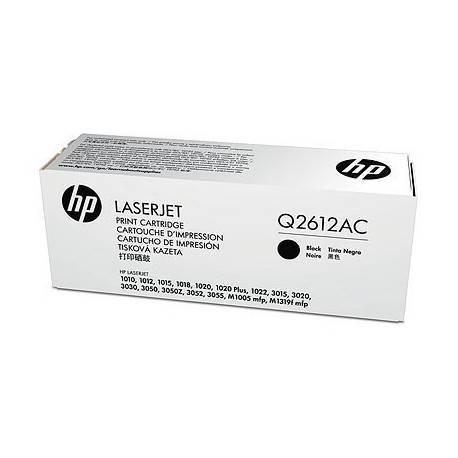 TONER ORIG HP LASERJET Q2612AC NEGRO