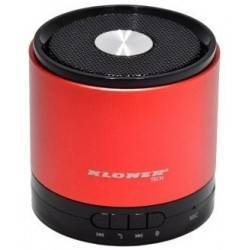 ALTAVOCES 1.0 KL-TECH KAB2 BLUETOOTH ROJO