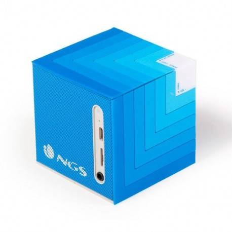 ALTAVOCES 1.0 NGS ROLLER CUBE BLUE BLUETOOTH