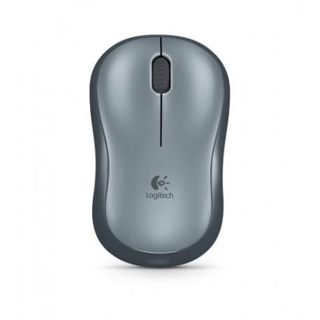 RATON OPTICO LOGITECH M185 WIRELESS GRIS