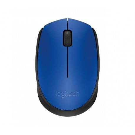 RATON OPTICO LOGITECH M171 WIRELESS AZUL