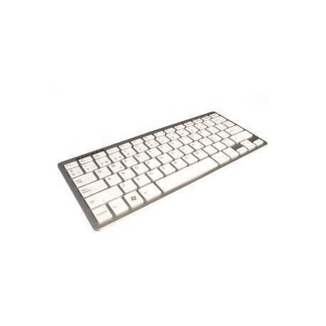TECLADO KL-TECH KTU0021 MULTIMEDIA BLANCO ALU USB
