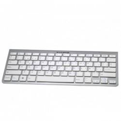 TECLADO KL-TECH KTB0025 MINI BLUETOOTH ALU BLANCO