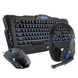 TECLADO+RATON+AURICULARES NGS GBX-1000 GAMING