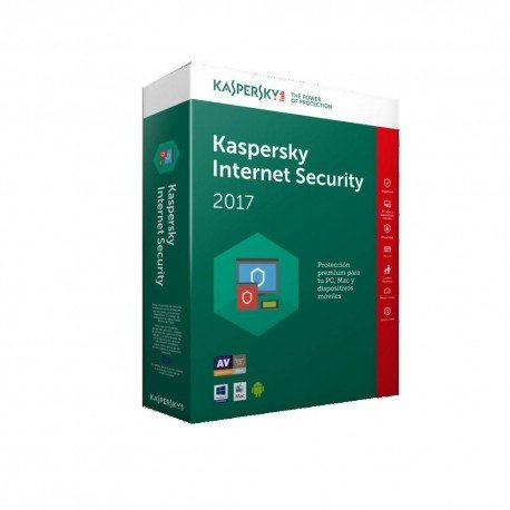 SOFTW KASPERSKY 2017 INTERNET SECURITY MULTI 1U