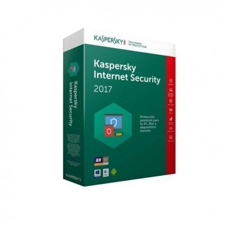 SOFTW KASPERSKY 2017 INTERNET SECURITY MULTI 3U