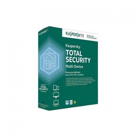 SOFTW KASPERSKY 2017 TOTAL SECURITY 3U