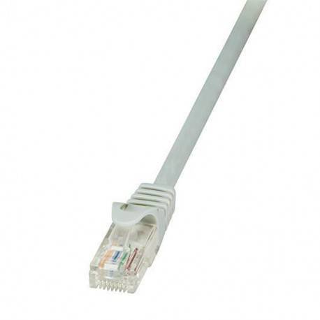 CABLE RED UTP CAT5E RJ45 LOGILINK CP1022U 0.5M