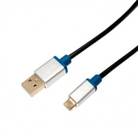 CABLE USB(A) 2.0 A MICRO-USB(B) 2.0 LOGILINK 1M