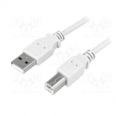 CABLE USB(A) 2.0 A USB(B) 2.0 LOGILINK CU0008 3M