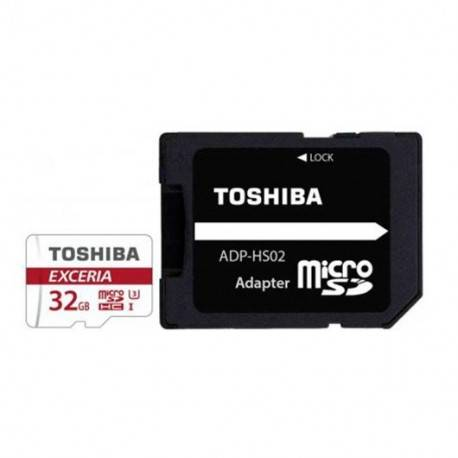 MEM MICRO SDHC 32GB TOSHIBA CL10 UHS-I (U3)+ADAPT