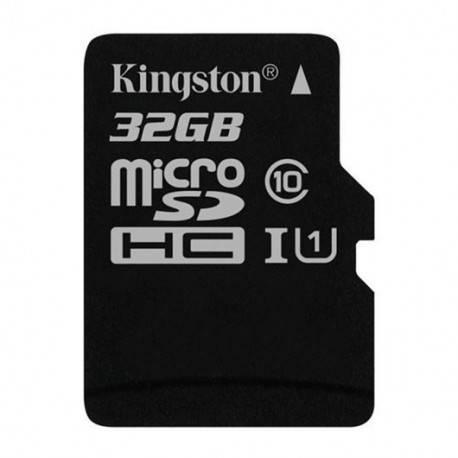 MEM MICRO SDHC 32GB KINGSTON CL10 UHS-I (U1)