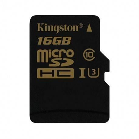 MEM MICRO SDHC GOLD 16GB KINGSTON UHS-I (U3)