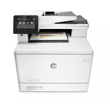 IMPRESORA HP MULTIFUNCION LASERJET COLOR M477FNW