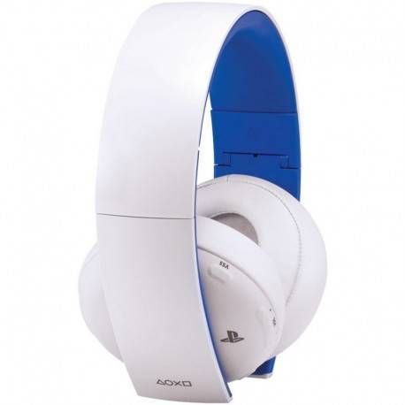 AURICULARESMICRO WIRELESS SONY PS4 BLANCO/AZUL
