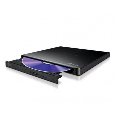 REGRABADORA USB DVDRW LG EXTERNA SLIM NEGRA