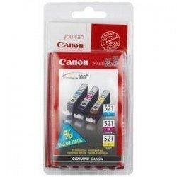 CARTUCHO ORIG CANON PACK CLI-521 TRICOLOR