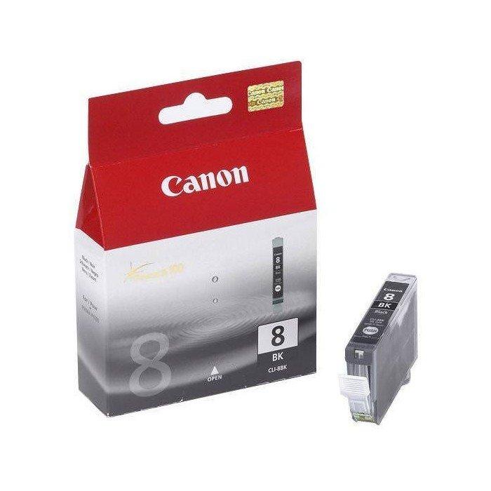 CARTUCHO ORIG CANON CLI-8BK NEGRO