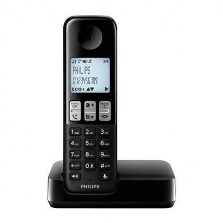 TELEF. INALAMBRICO DECT DIGITAL PHILIPS D2301B/23