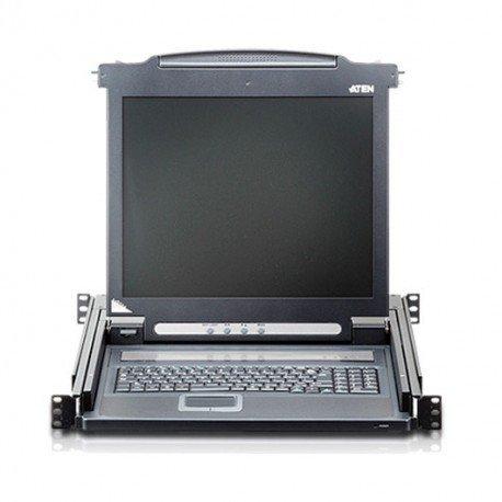 TECLADO+LCD 17 TIPO CONSOLA ATEN CL1000M-ATA-XG