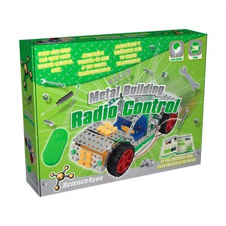 SCIENCE4YOU METAL BUILDING COCHE RADIO CONTROL