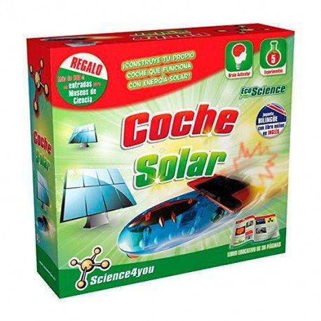 SCIENCE4YOU COCHE SOLAR