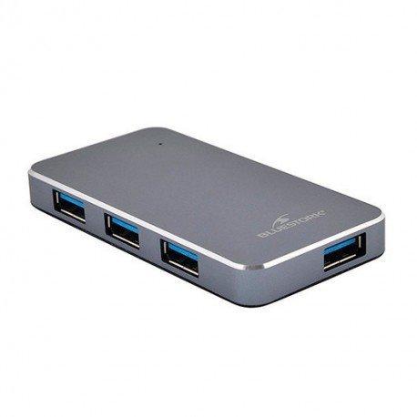 HUB 4 PUERTOS USB2.0 BLUESTORK HUB-USB2-4U-PS