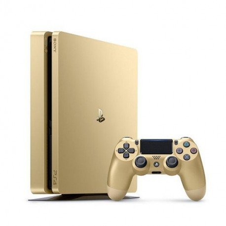 VIDEOCONSOLA SONY PS4 500GB GOLD SLIM+2 DUALSHOCK