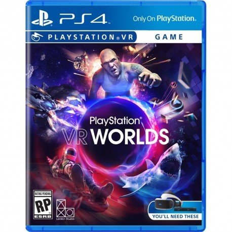 JUEGO SONY PS4 VR WORLDS VR