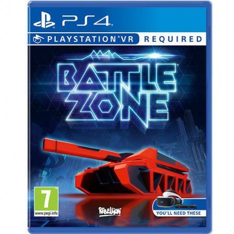 JUEGO SONY PS4 BATTLEZONE VR