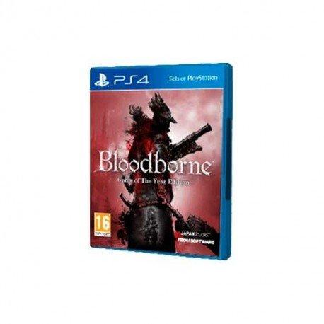 JUEGO SONY PS4 BLOODBORNE GOTY