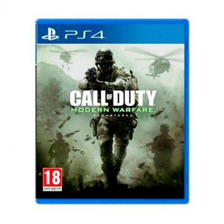 JUEGO SONY PS4 MODERN WARFARE REMASTERED