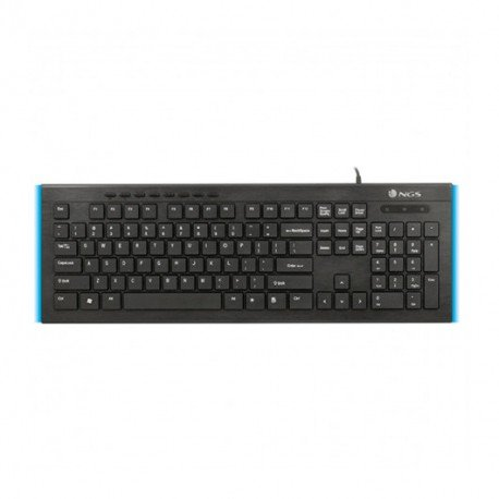 TECLADO NGS FIREFLY ULTRA FINO CON LUCES LED