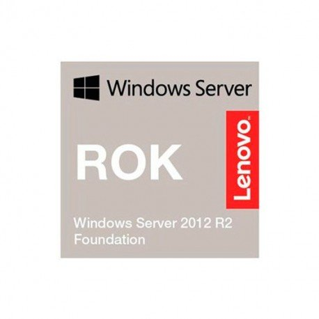 WINDOWS SERVER 2012 ROK R2 FOUNDATION LENOVO