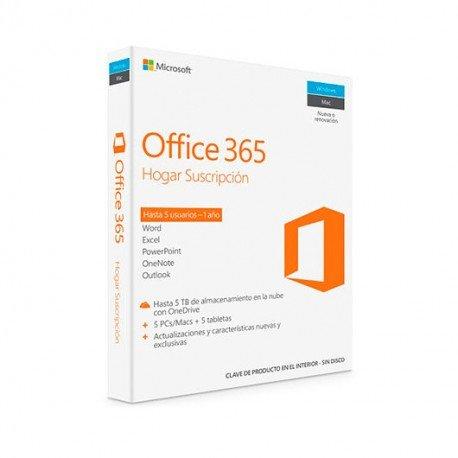 SOFTW MICROSOFT OFFICE HOGAR 365 (ESD)