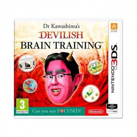 JUEGO NINTENDO 3DS DEVILISH BRAIN TRAINING