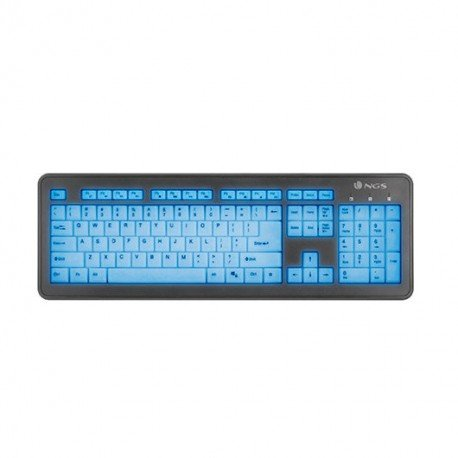 TECLADO NGS WIRED BLUELAGOON