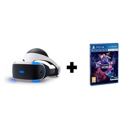GAFAS SONY PLAYSTATION VR + VR WORLDS