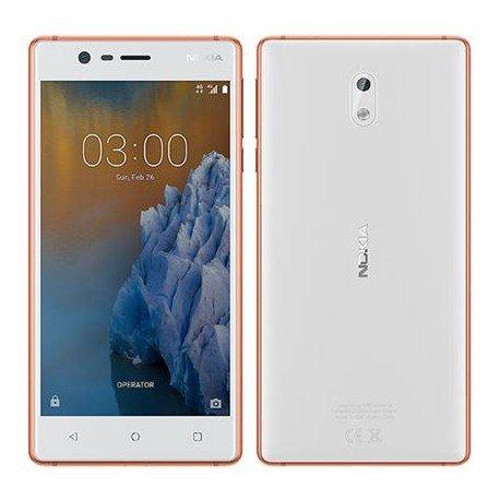 Nokia 3 4G 16GB Dual-SIM cobre blanco