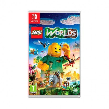 JUEGO NINTENDO SWITCH LEGO WORLDS