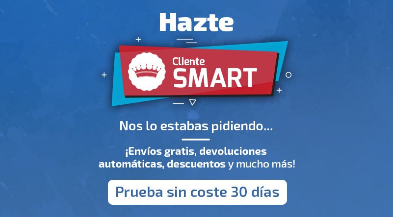 ¡OFERTA de lanzamiento! ¡Hazte cliente SMART!